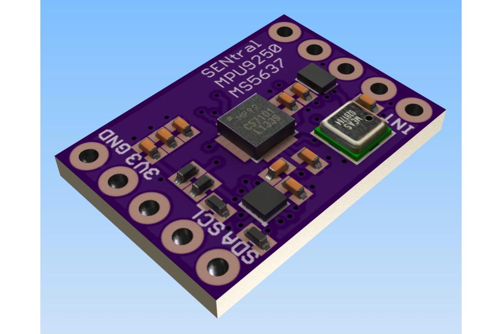 Ultimate Sensor Fusion Solution - MPU9250