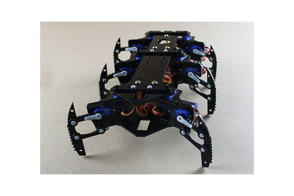 Acrylic Spider Hexapod Robot Kit 6