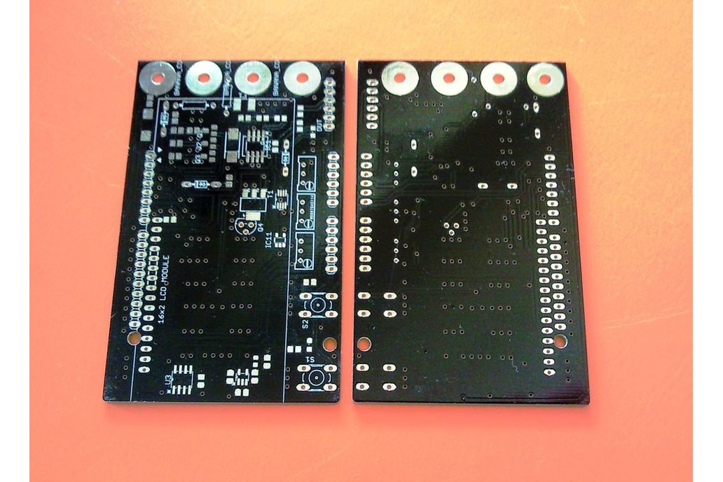 Bare PCB for Arduino DMM / Miliohm meter shield 1