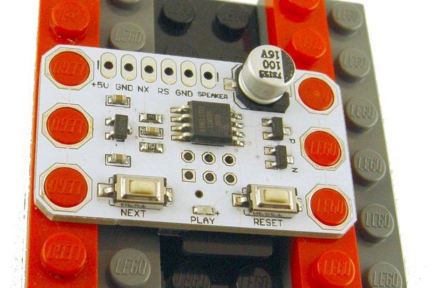 micro SD card Wav player, 5x3 brick compatible