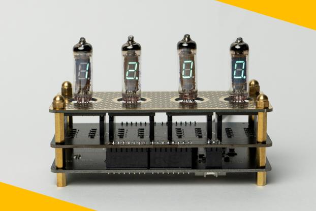 IV3 Tube Clock Kit - CircuitPython