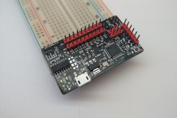 Breadboard Arduino UNO clone