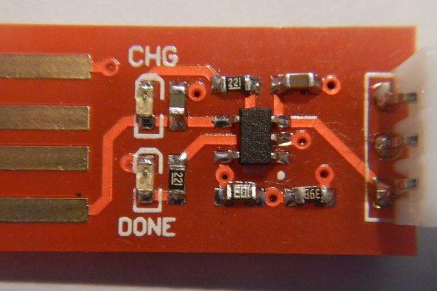 Micro sized USB Lipo Charger
