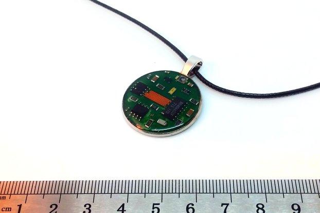 """""""Chip Bridge"""" - Dead Components Pendant #019"""