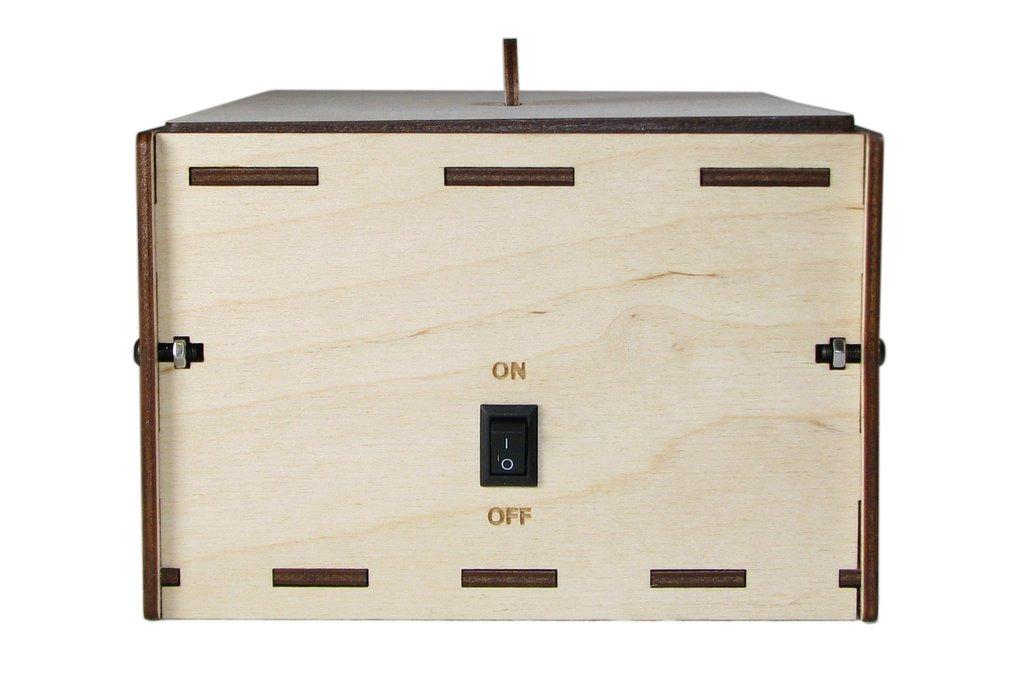 """PCB UV Exposure Box, 6"""" x 4"""" 5"""
