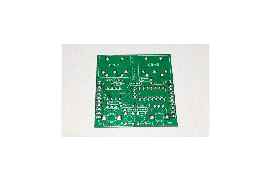 MIDI Booster Pack PCB 1