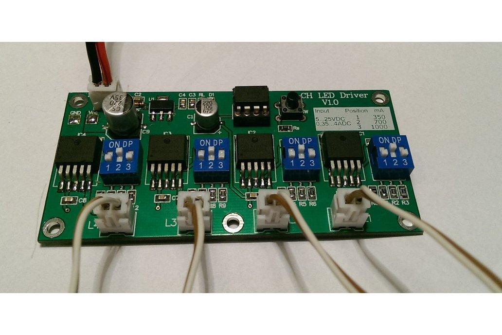 4 CH ATtiny 45/85 LED Driver 1