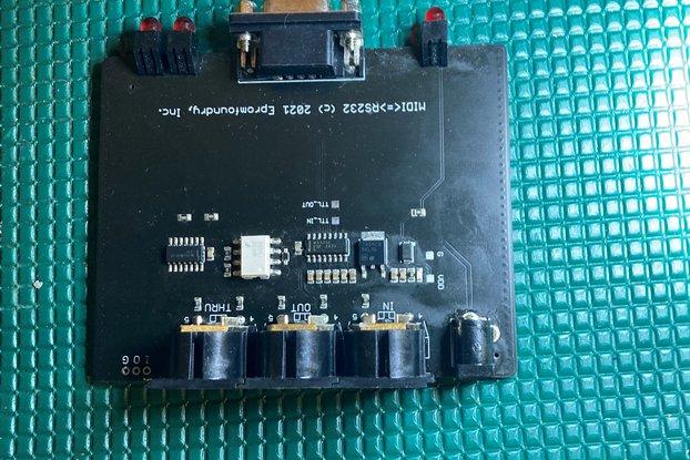 SGI Octane/O2 Midi Adapter