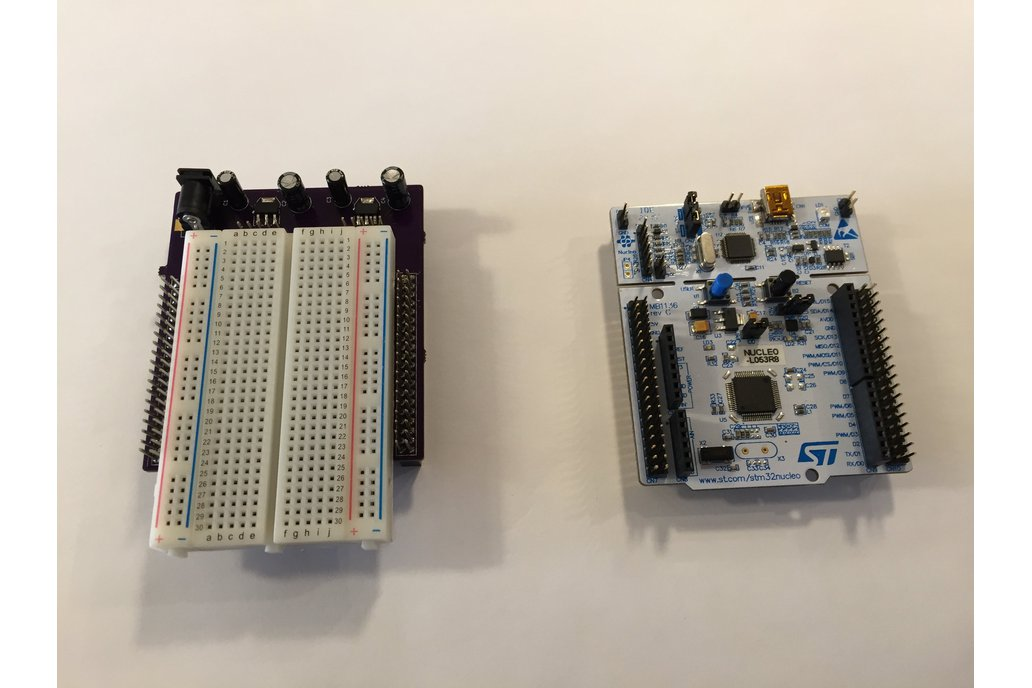 STM32 Nucleo Morpho Expansion Breadboard 1