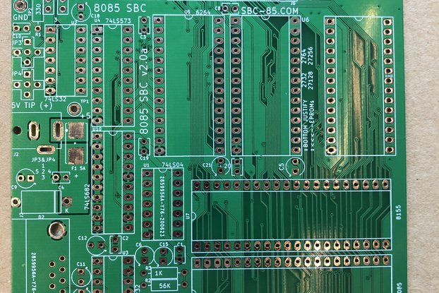 8085 Single board computer v2.0a