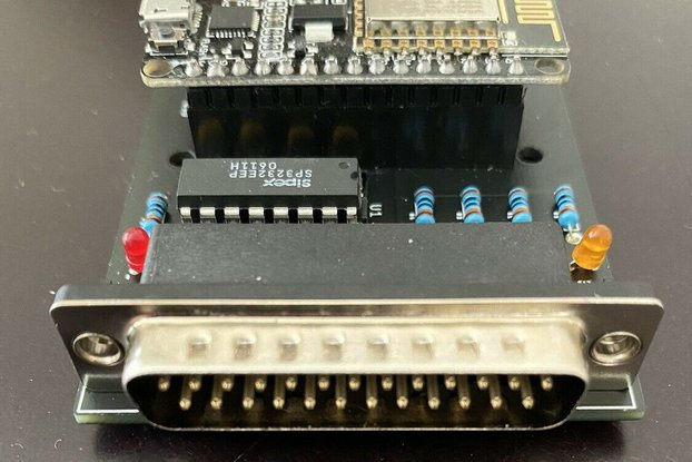 RS232 WiFi Wireless Modem for Vintage Computers