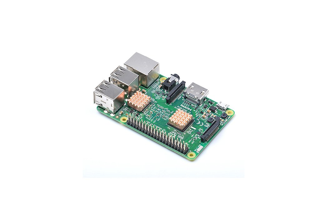 Ultra-thin Heat Sink for Raspberry Pi 2/3(11893) 4