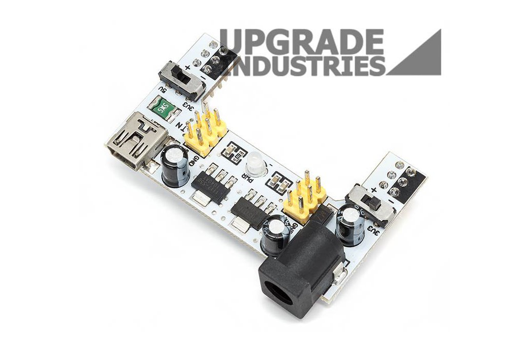 Two Output Breadboard Power Supply Module 3.3-5.0V 1