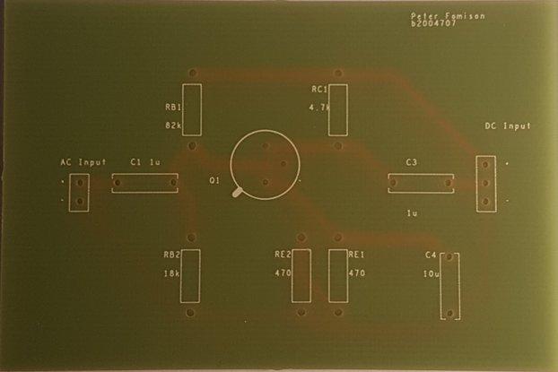 CE Amplifier