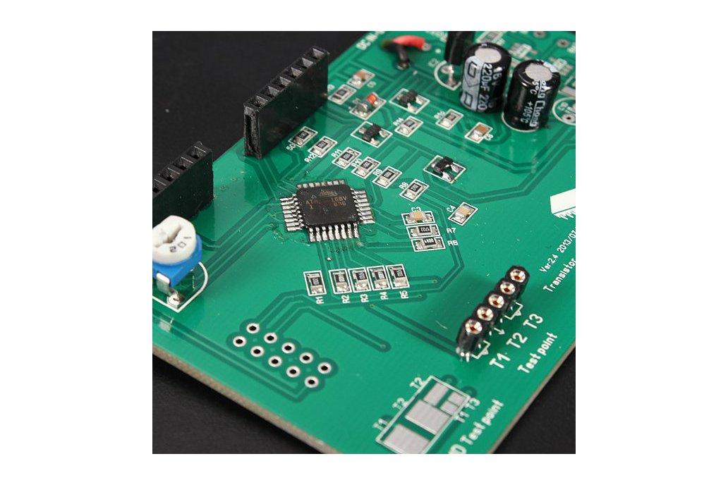 Transistor Tester Capacitor ESR Inductance Resistor Meter 5