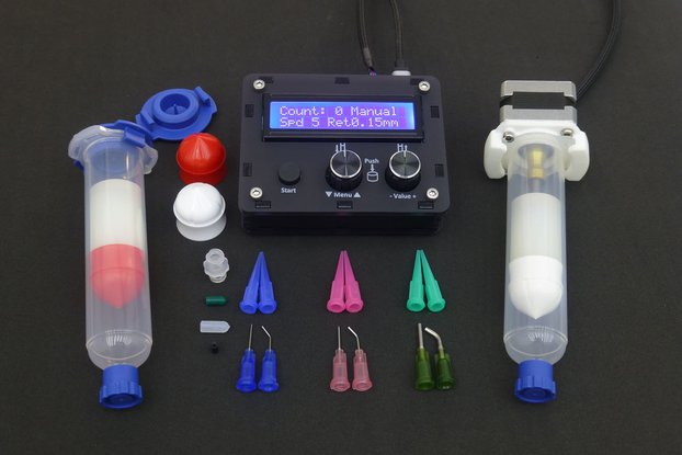 DM – Solder paste and adhesive dispenser