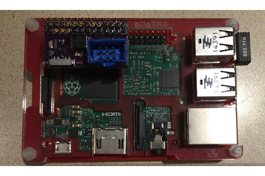 Raspberry Pi AVR ISP Cap