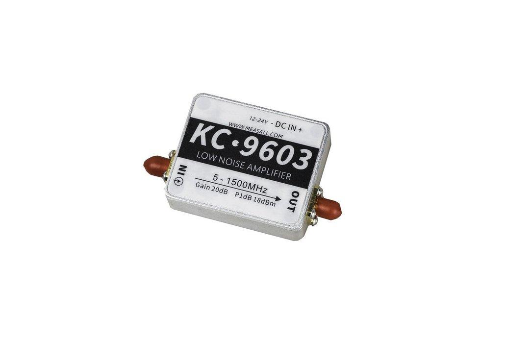 5MHz-1.5GHz 20dB low noise amplifier 1