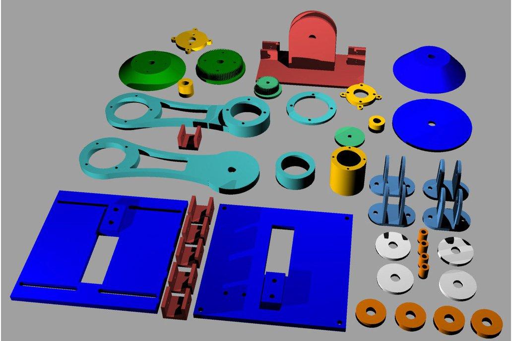 Arduino controlled 3D filament dispenser 6