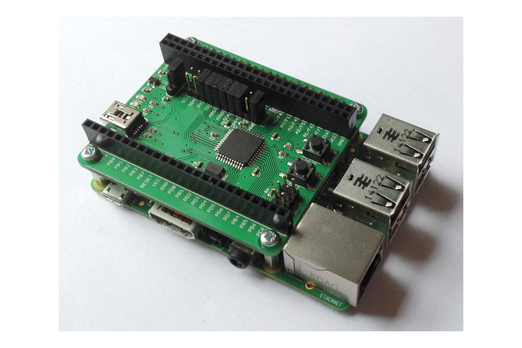 AVRPi-32U4 for Raspberry Pi A+/B+/Pi2 1