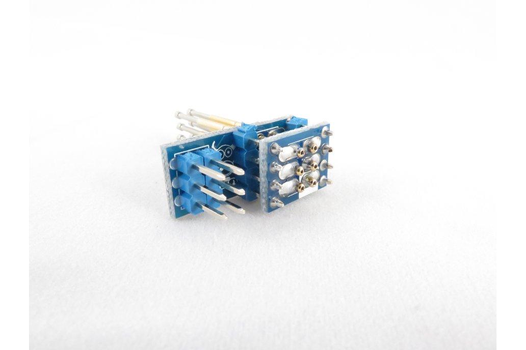 Pogo Pin ICSP SPI Programmer Adapter 5