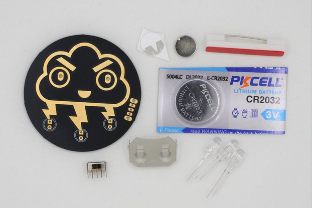 Angry Storm Cloud Soldering Kit