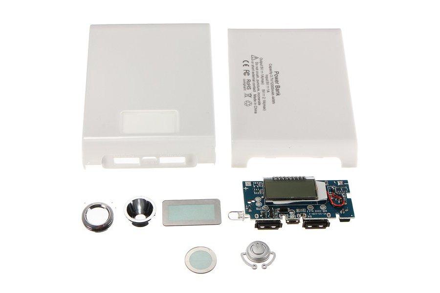 DIY Kit Dual USB Power Bank Battery Charger Box