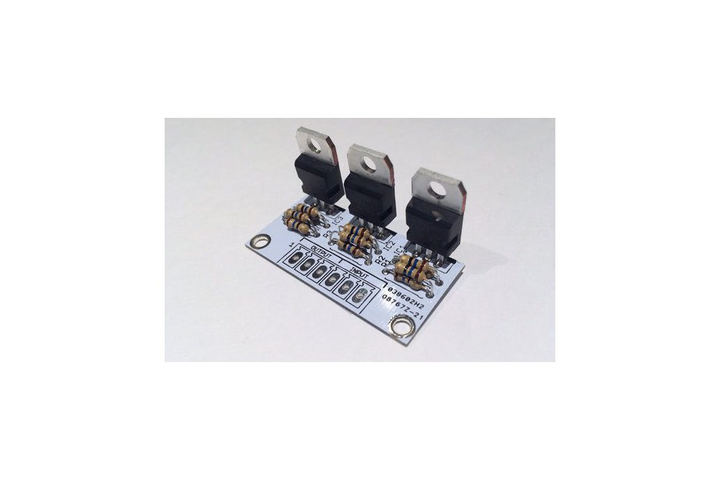 3-Ch. Constant Current LED driver PCB 1