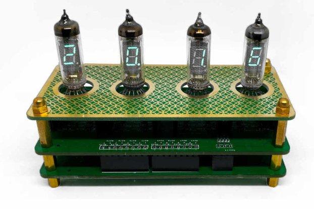 IV3 Tube Clock Kit
