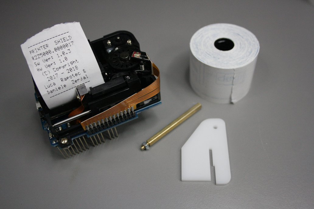Arduino Thermal Paper Printer Shield 1