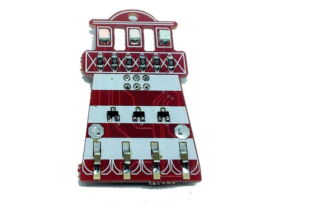 Lighthouse - LED learn to solder kit