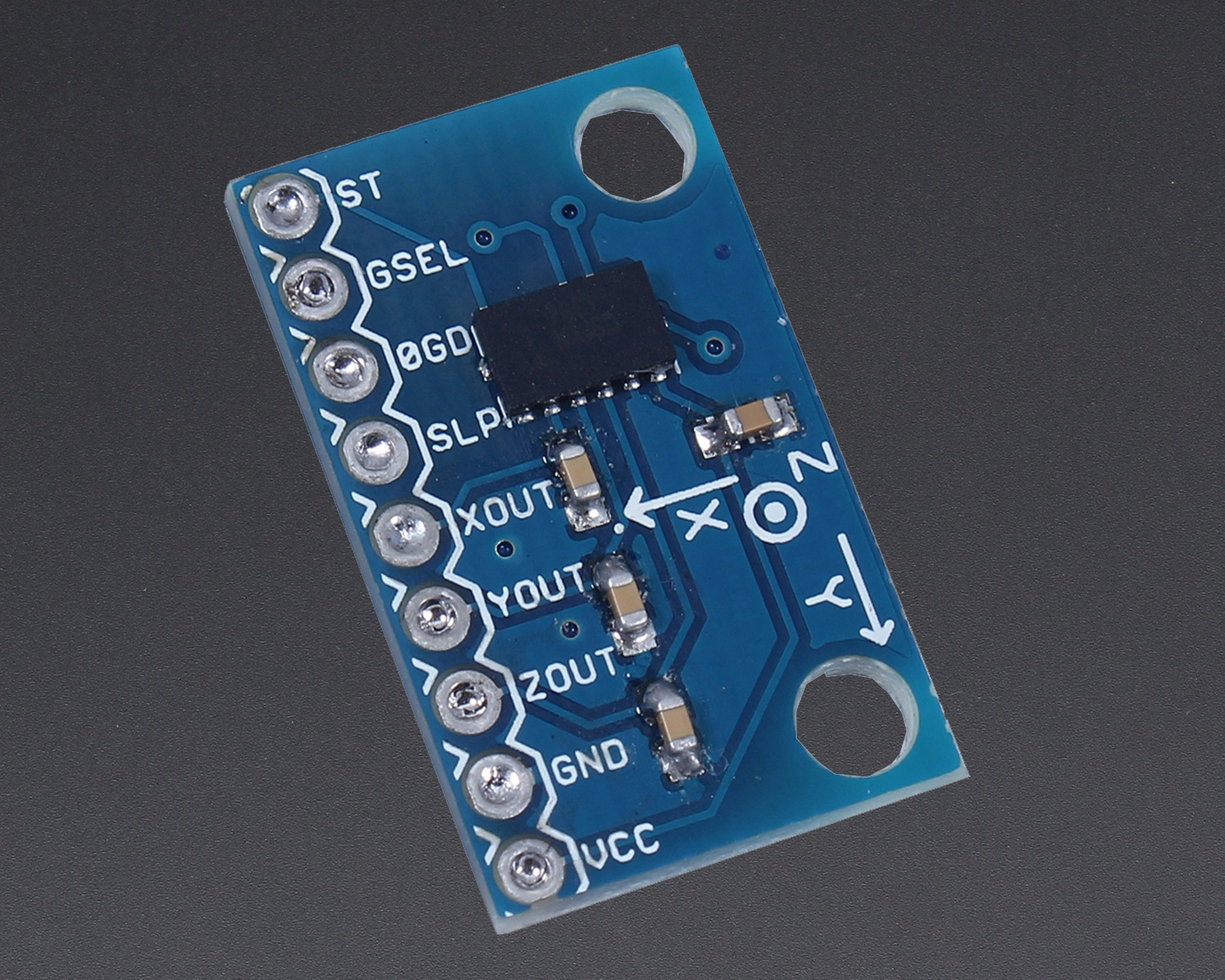 Axis Accelerometer Ana Out For Arduino4515 From Icstation On Tindie Shock Sensor Amplifier 1