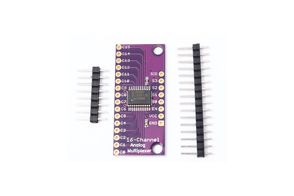 CD74HC4067 Analog Digital MUX Breakout Board(5279) 3