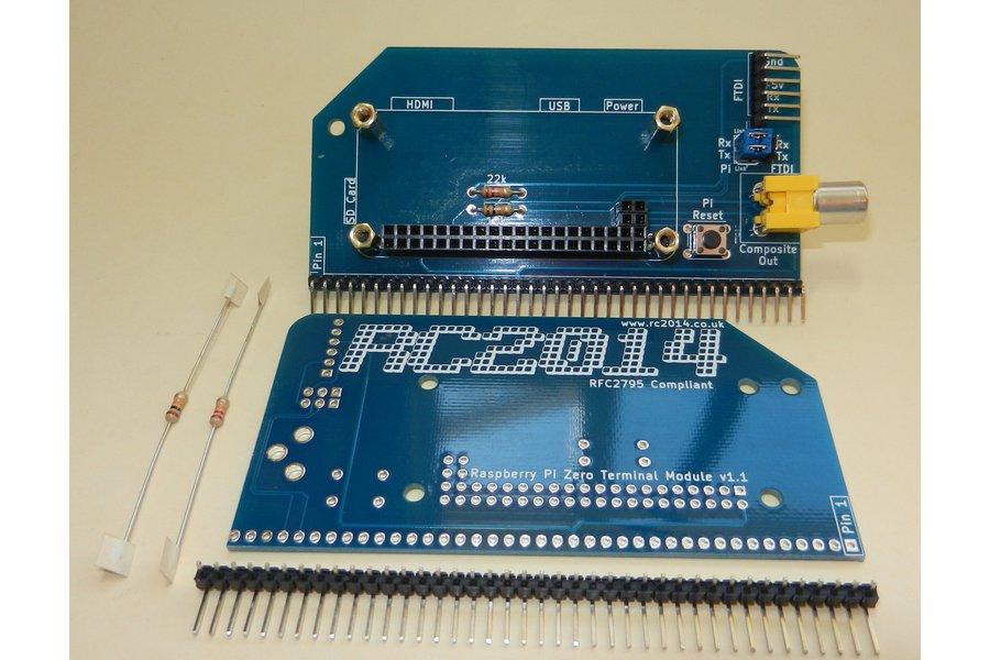 Raspberry Pi Zero Serial Terminal for RC2014