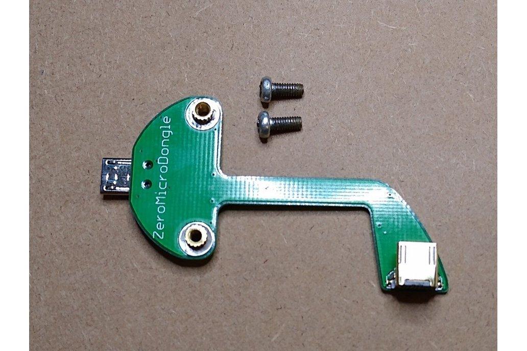 Solderless Zero Micro Dongle for Raspberry Pi Zero 1