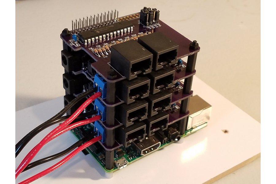 PiRyte Mini 16 Channel Digital Input Extender
