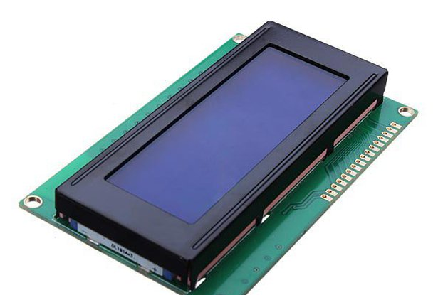 5V 2004 20X4 204 2004A LCD Display Module Blue Screen For Arduino