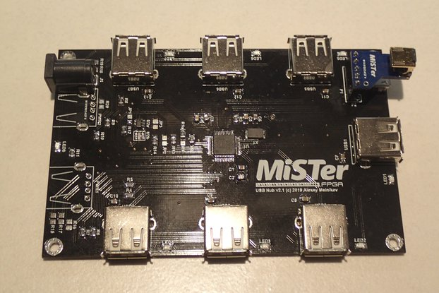 MiSTer USB Hub v2.1 with USB Bridge