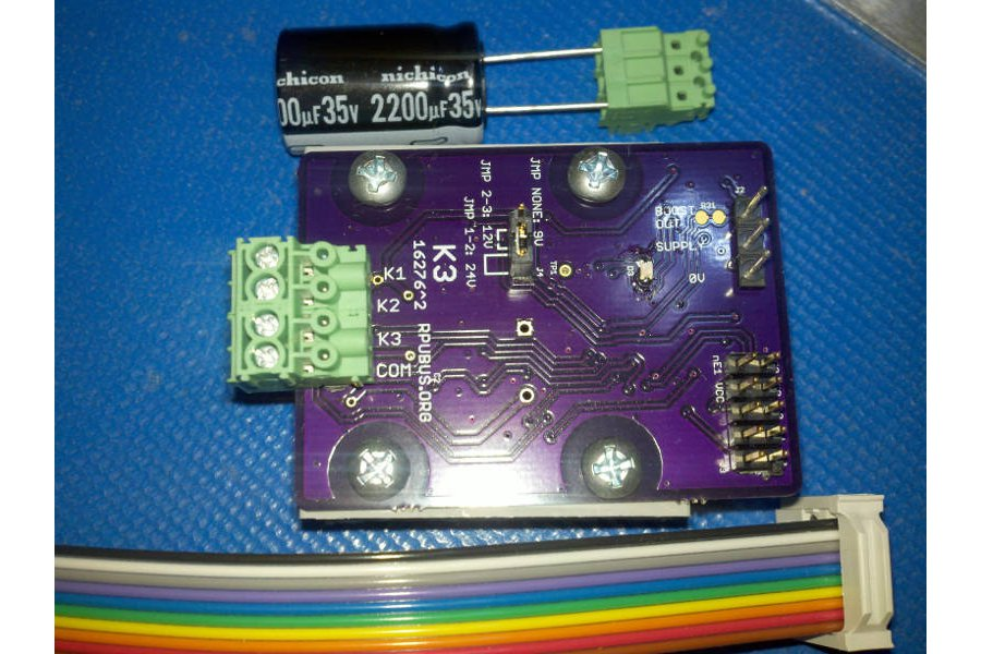 K3 - a latching solenoid driver board