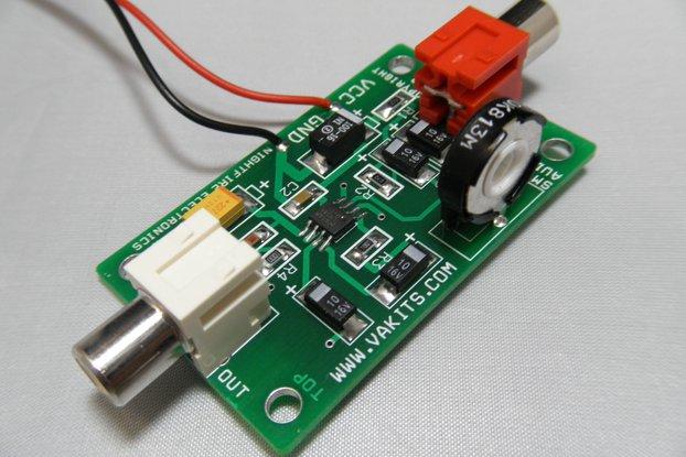 LM386 SMT Audio AMp Kit (#1700)