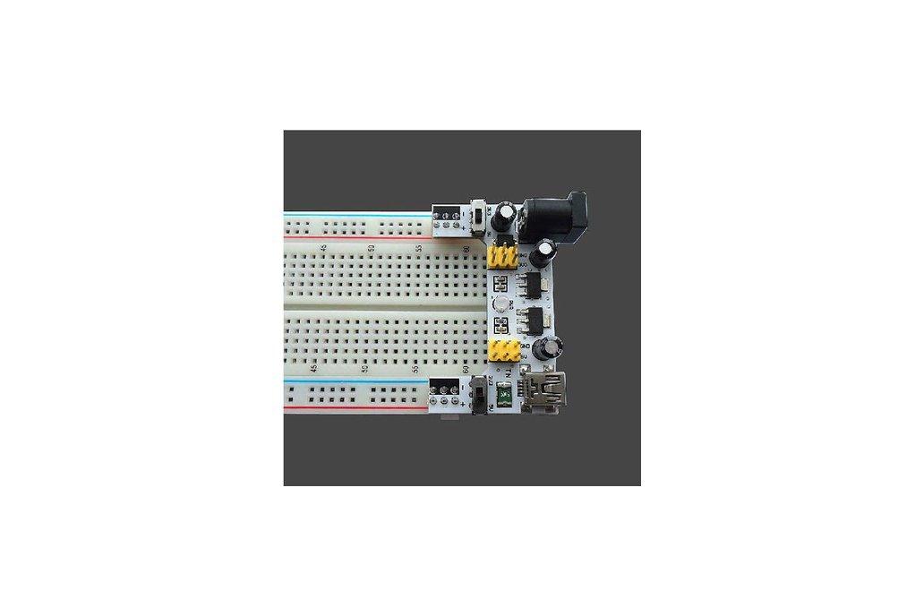 5V/3.3V Micro USB Interface Breadboard(7097) 2