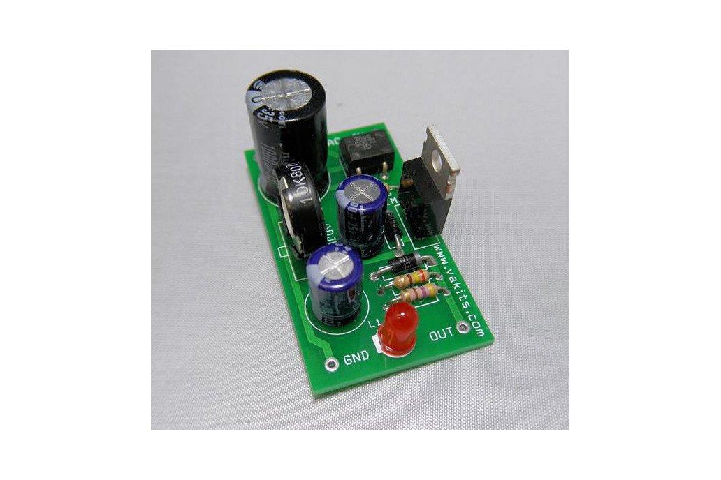 Adjustable DC Power Supply Kit (#1725) 1