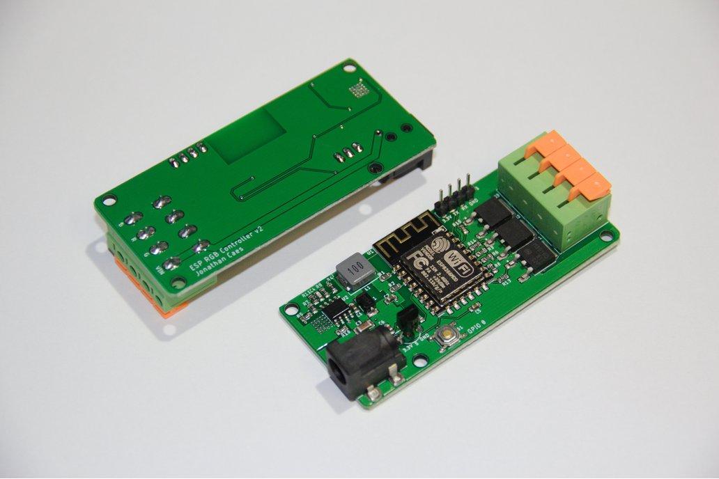 IoT RGB LED Controller with Temp Sensor (ESP8266) 1