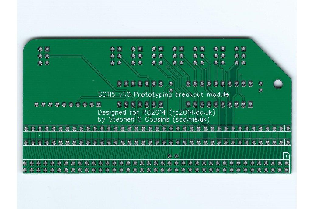 SC115 Prototyping Breakout Board for RC2014 9