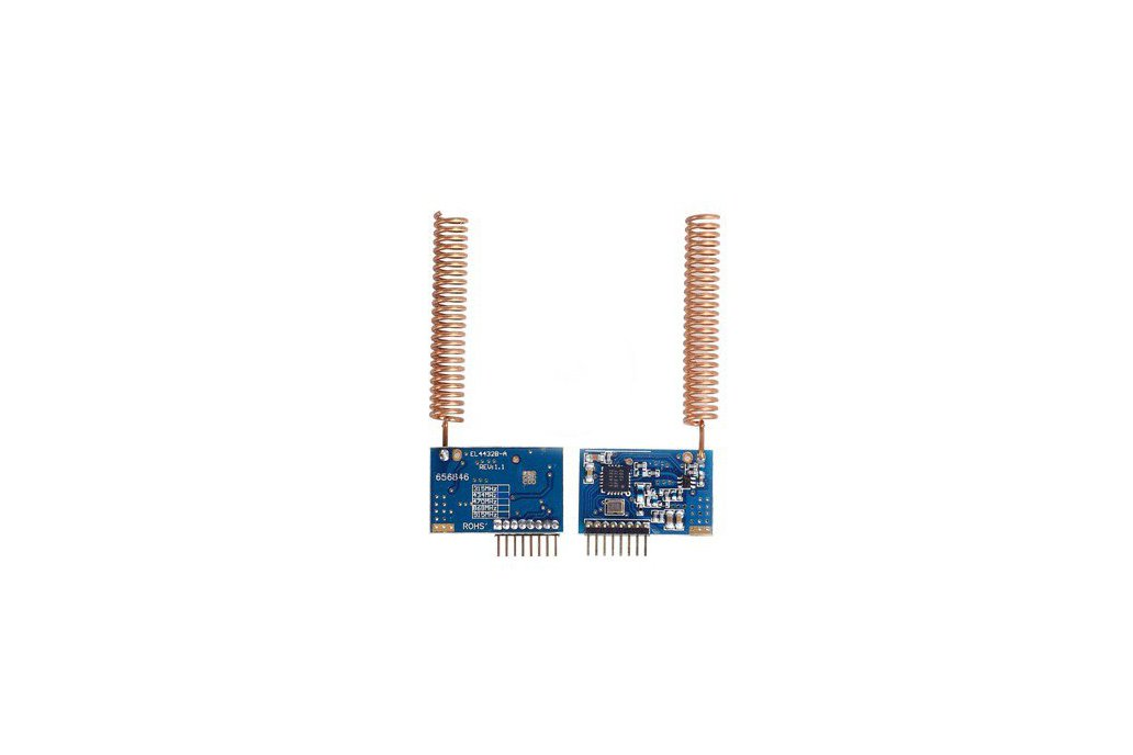SI4432 wireless with antenna 4