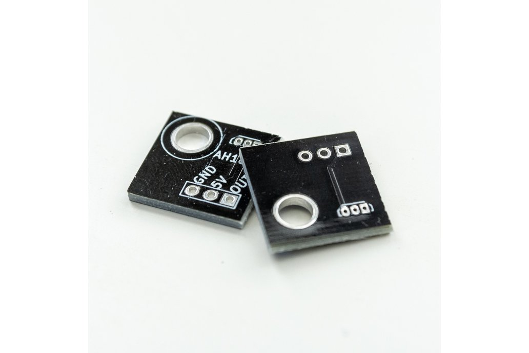 Hall Effect Breakout PCBs for Splitflap Display 1