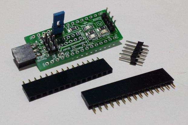 H2O2-Nano As ISP Shield, Arduino Nano Programmer
