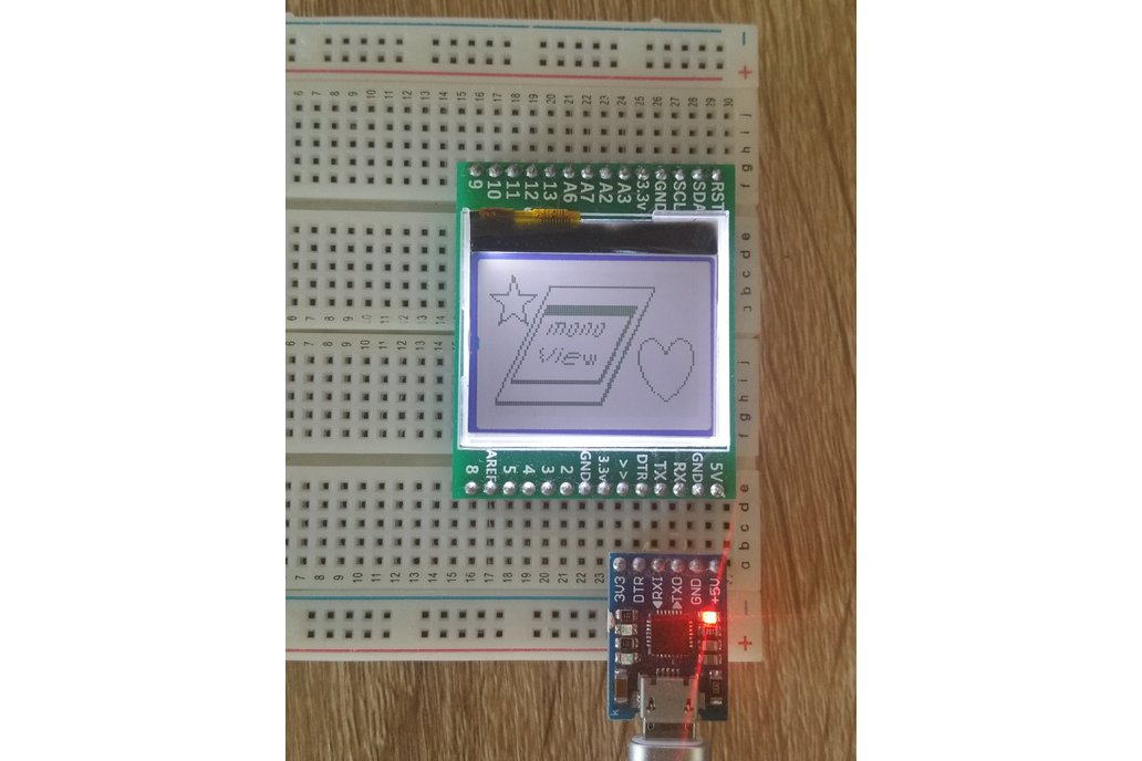 monoView - An arduino with built in display 3