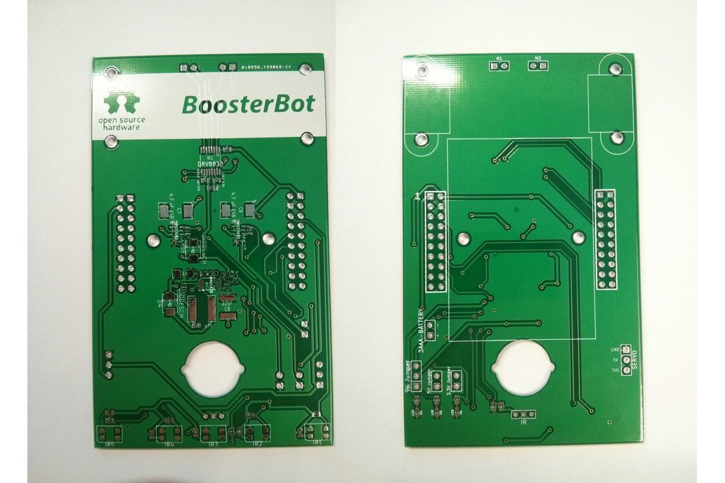 BoosterBot - Turn your LaunchPad into a Robot! 5
