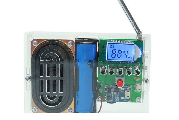 DIY Kit FM Radio 76-108MHz (No Battery)_GY18971